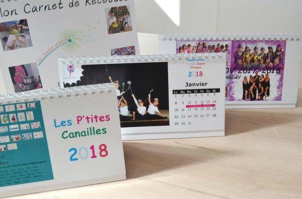 calendrier de bureau pas cher pour école et association