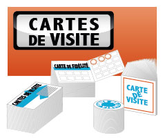 cartes de visite Or à chaud