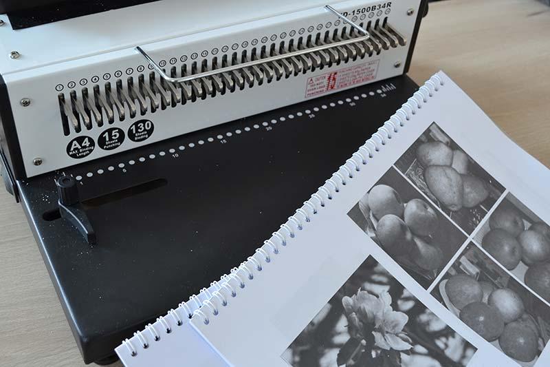 dossier photocopie avec reliure spirale métallique : photocopie en ligne pas cher, service reprographie, photocopie pas cher en rapide livraison express