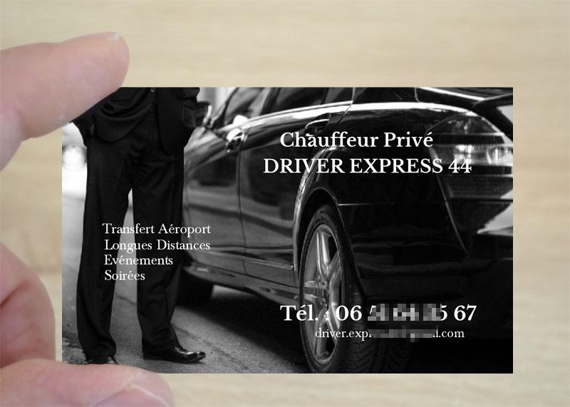 Exemple Et Modele Carte De Visite Taxi En Ligne A Personnaliser