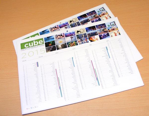 calendrier bancaire ou calendrier mural pas cher avec personnalisation et création en ligne