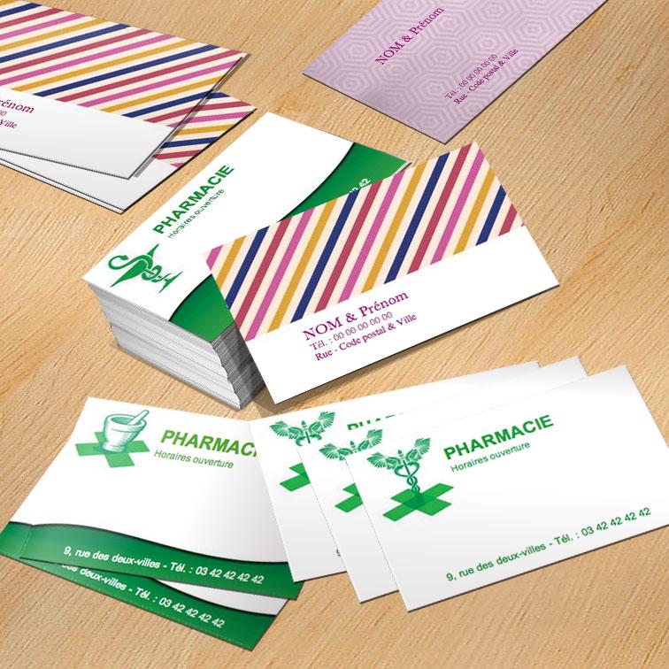 Modele Carte De Visite Gratuite A Imprimer