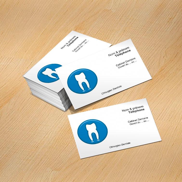 Modele Carte De Visite Chirurgien Dentiste