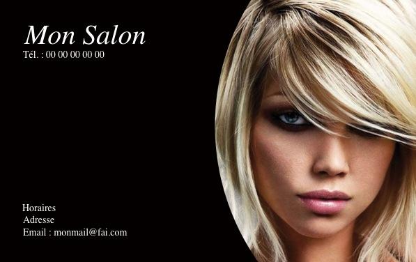 Imprimerie locale et pas ch re nos mod les de carte de visite - Salon de coiffure albertville ...