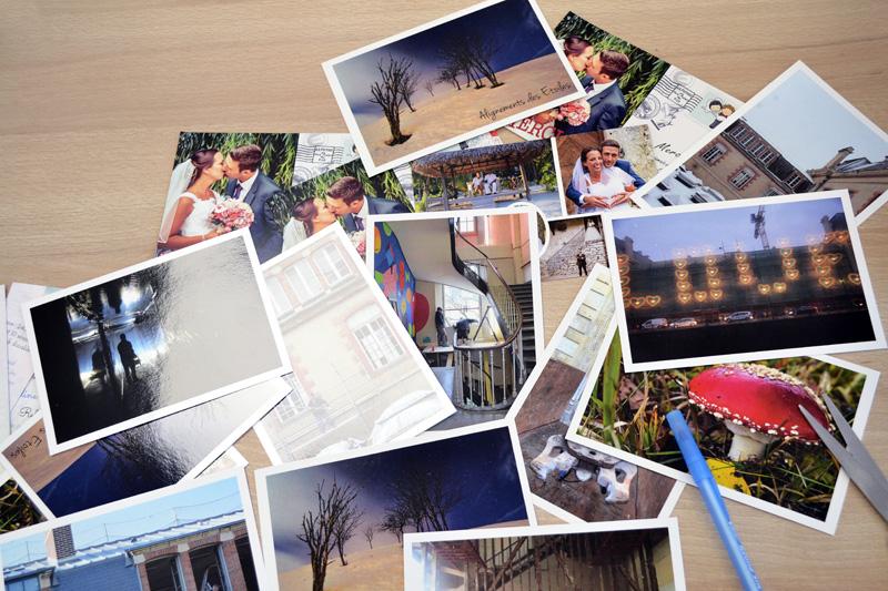 rassembler ses photos pour réussir son calendrier