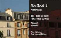 Modele Carte De Visite Immobilier Pour Agence Immobiliere A Personnaliser En Ligne Avec