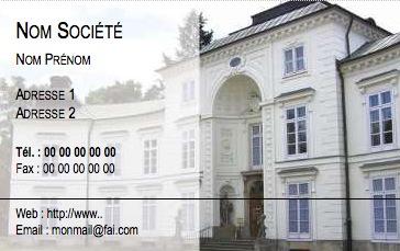 Immobilier Modle Carte De Visite Agence Immobilire Impression Pas Chre Personnaliser En Ligne Gratuit