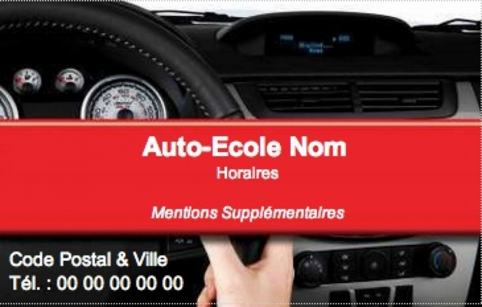 Auto Cole Carte De Visite Ecole Exemple Pas Cher Avec Modle En Ligne Gratuit Imprimer Chez Soi