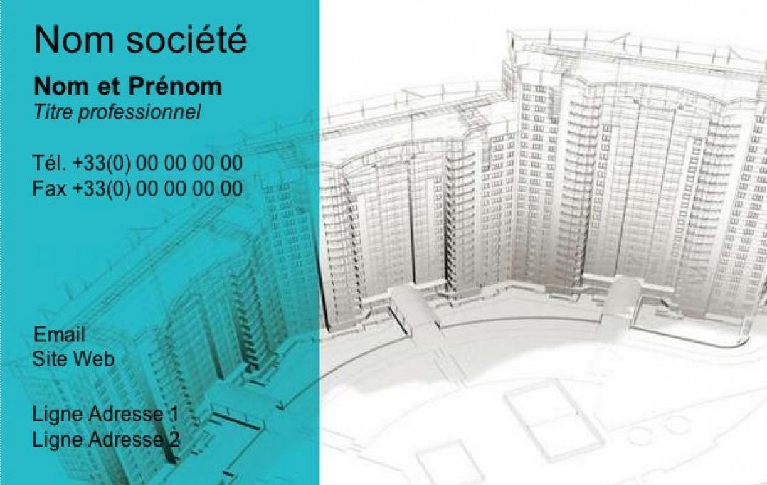 Amazing exemple carte de visite en ligne u architecte avec for Architecte gratuit en ligne