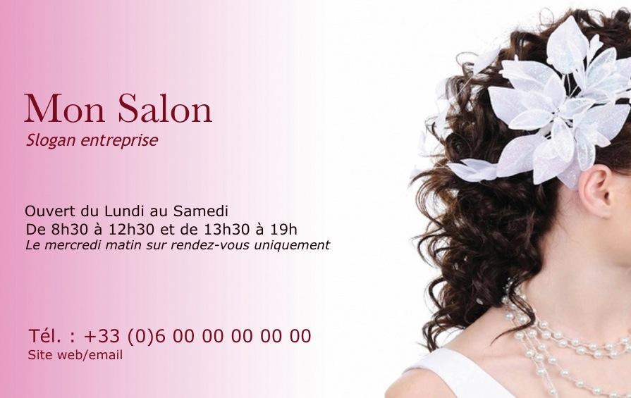 Coiffure Cheveux Carte De Visite Modle Professionnelle Gratuit Personnaliser En Ligne Avec Impression Pas Chre Ou