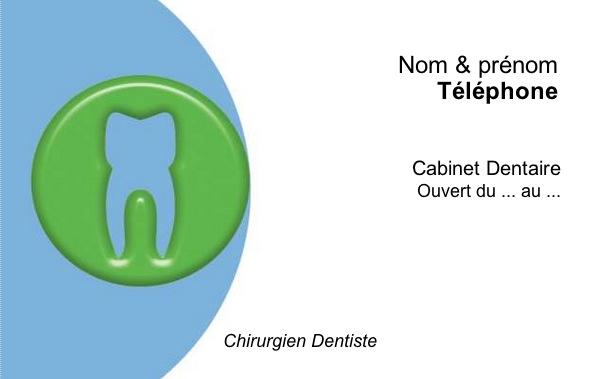 Dentiste Carte De Visite Modele Original A Personnaliser En Ligne Avec Impression Pas Chere Ou Telechargement Gratuit