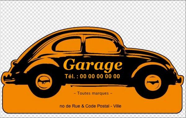 Carte De Visite Garage Auto