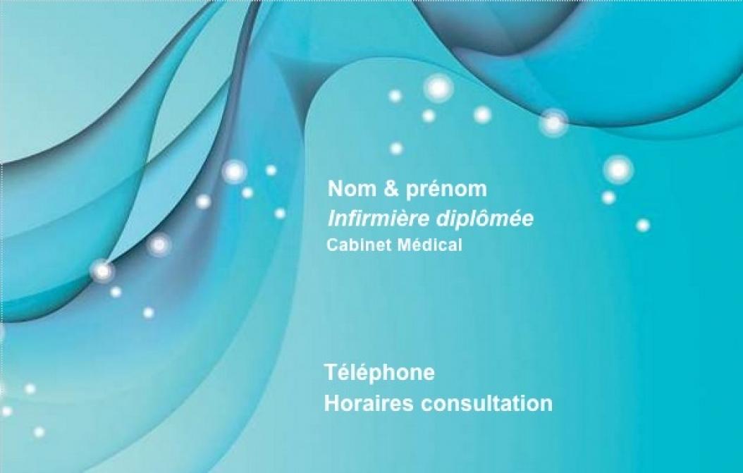 Cabinet Infirmerie Exemple Carte De Visite Infirmire Librale Originale Et Pas Chre Personnaliser En Ligne Modle Gratuit