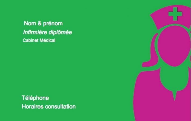 Carte de visite infirmi re domicile mod le gratuit - Cabinet medical mezieres sur seine horaires ...