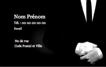 Perso Et Prive Carte De Visite Pour Homme Modle Gratuit Personnaliser En Ligne Pas Chre