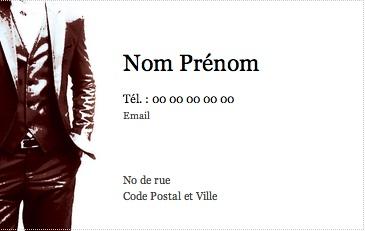 Personnelle Et Prive Carte De Visite Pour Homme Modle Gratuit Personnaliser En Ligne Pas Chre