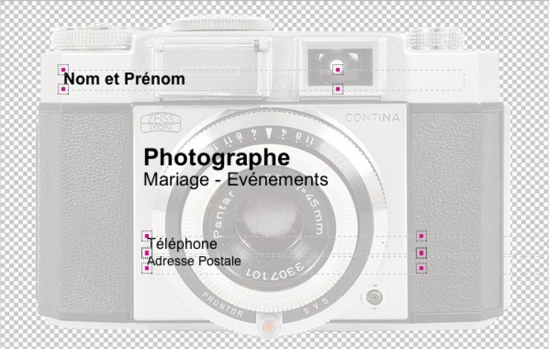 Photographe Carte De Visite Originale Et Pas Chere Modele A Personnaliser Imprimer Chez Soi