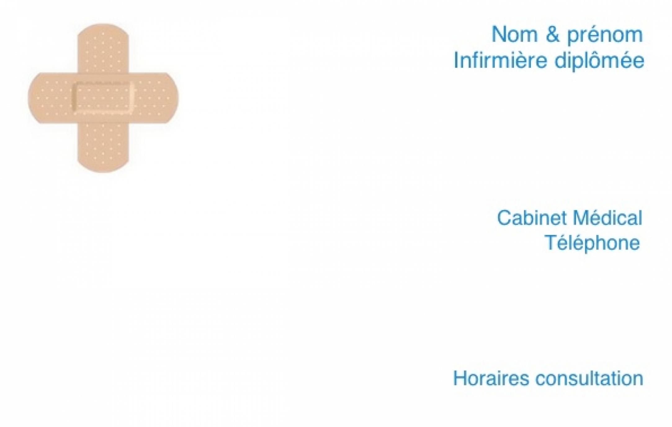Cabinet Infirmerie Exemple Carte De Visite Infirmiere Liberale Originale Et Pas Chere A Personnaliser En Ligne Modele Gratuit
