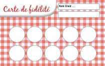 Modele Carte De Fidelite Gratuit A Personnaliser En Ligne