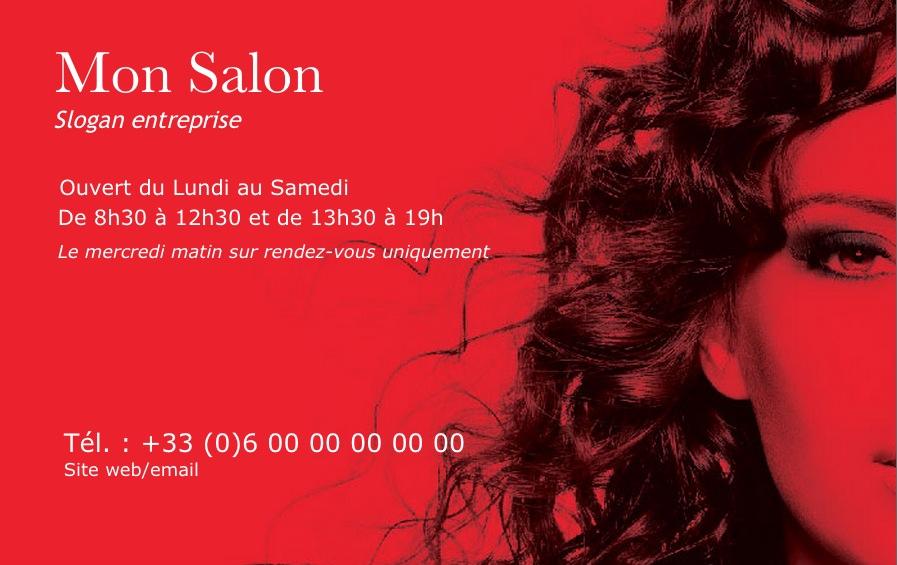 Coiffure Professionnelle Imprimer Fidlit Design Avec Belle Photo Rouge