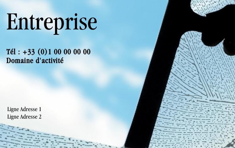 Exemple Carte De Visite Nettoyage Entretien Service Pas Chre Avec Modle Gratuit Personnaliser En Ligne Design Moderne