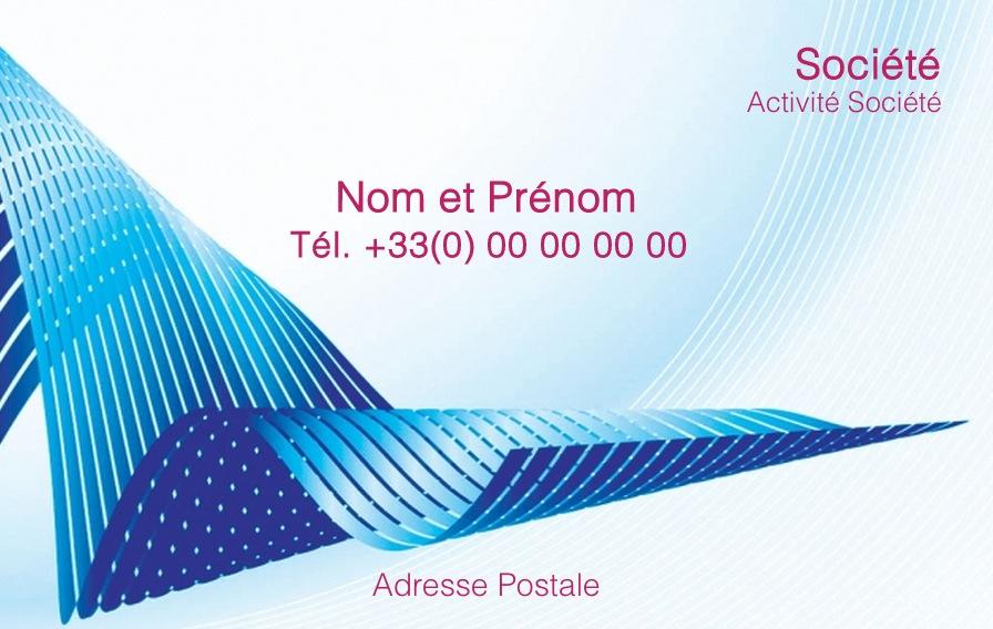Exemple carte de visite professionnelle personnaliser mod le gratuit - Carte de visite gratuite sans frais de port ...