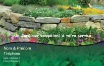 Modele Carte De Visite Espace Vert Pour Jardinier A Personnaliser En Ligne Avec
