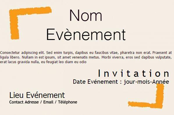 Célèbre Modèle Flyer Publicitaire Format Carte Postale à personnaliser soi  CD14
