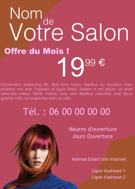 Exemple de flyers gratuit rm73 montrealeast for Exemple de salon