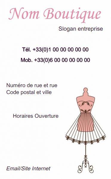 Couturiere Retouche Creation Er Realisation De Vetement Grande Taille Ou Sur Mesure Boutique Carte Visite Couture Et