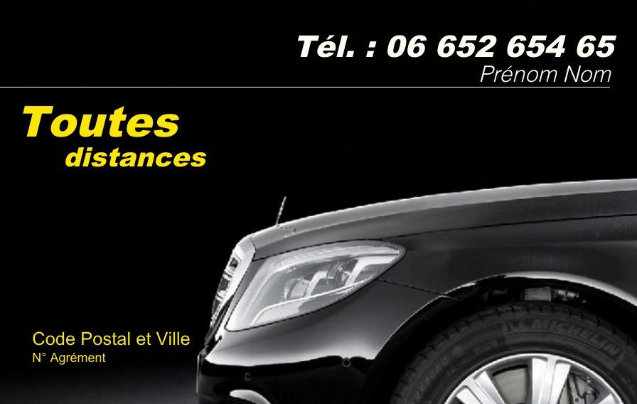 Taxi Modele Carte De Visite Pas Cher Professionnel Gratuit A Personnaliser Et Telecharger