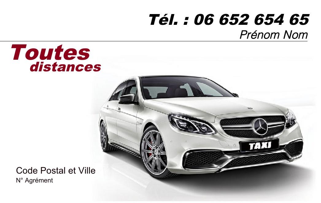 Exemple Carte De Visite VSL Et Transport Personne Pas Cher Modele Professionnel Gratuit A Personnaliser Telecharger