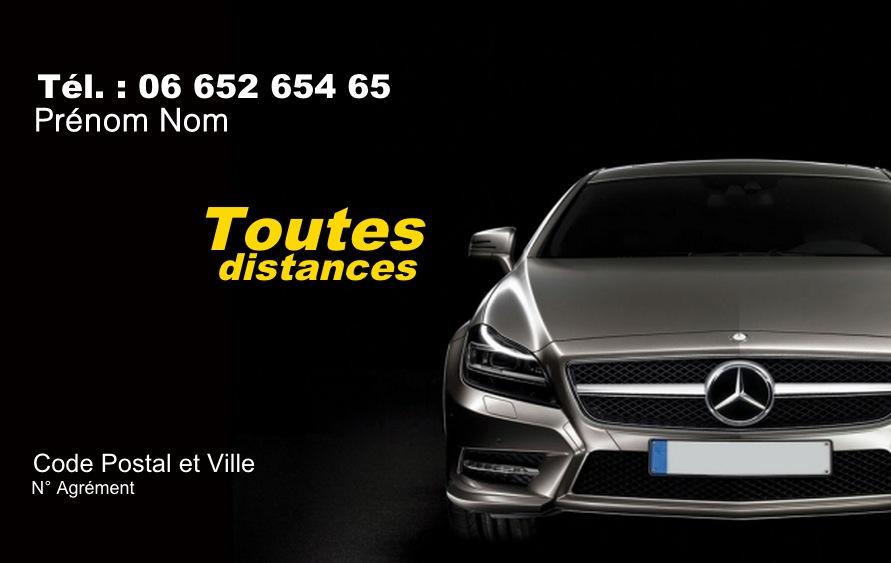 Carte De Visite Taxi Modele Gratuit A Imprimer Nuit