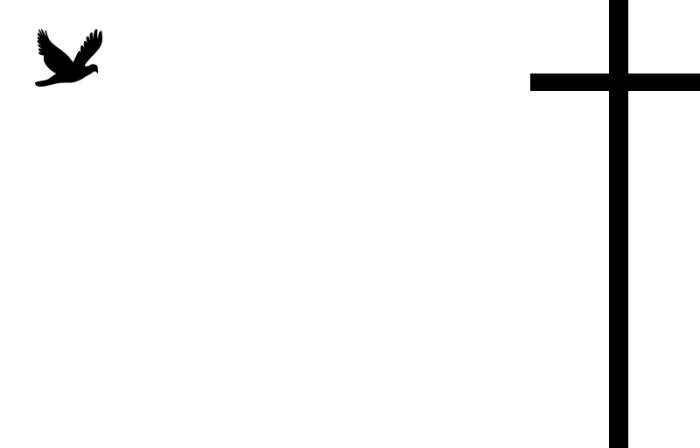 Modèle Carte Remerciement Décès Pas Chère à personnaliser | Croix