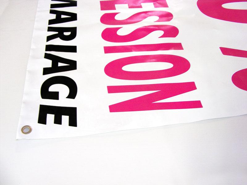 Impression Bâche er banderole publicitaire personnalisée pas cher et sur mesure