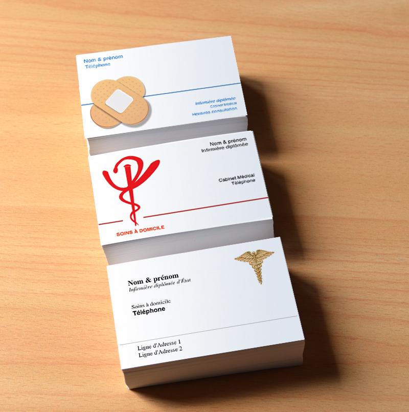 Exemple De Carte Visite Infirmire Librale Et Domicile