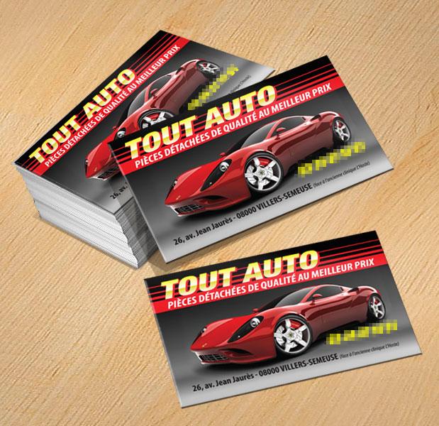 Modle Carte Professionnelle Vendeur Pice Auto Cartes De Visite